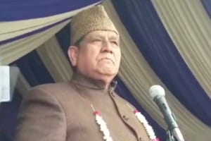 Lone, who is also NC's candidate from Kupwara parliamentary seat, raised pro-Pakistan slogans