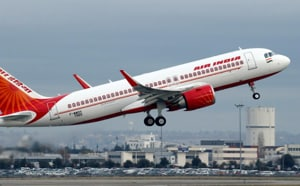 According to an Air India official, it was a third party advertisement and that the leftover boarding passes were printed recently.