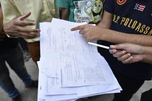 During the investigation, the police confiscated the phones of six students, who got the leaked paper.