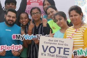 With the election commission's tag line 'No voter to be left behind', enrolment campaigns, awareness drives, street plays are being held by student groups in an attempt to enrol and encourage students to vote.