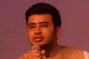 Tejasvi Surya, the general secretary of the BJP's youth wing, is the nephew of BJP MLA Ravi Subramanya and joined the party four years ago.