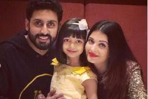 Aishwarya, Abhishek Bachchan return from their Goa vacation with daughter Aaradhya- See pics, video