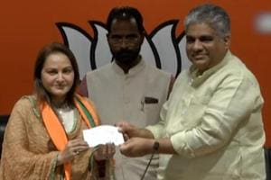 Star-power for BJP: Jaya Prada joins party, to challenge SP in Rampur
