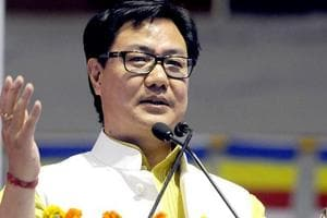Union Minister of State for Home Kiren Rijiju represents Arunachal West seat in the Lok Sabha. He will contest again from the same parliamentary constituency this year.