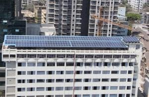 Nagpada gets South Mumbai's first solar-powered college