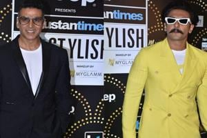 Watch Ranveer, Akshay, Ayushmann groove on stage at HT India's Most Stylish...