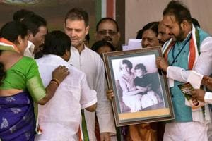Lok Sabha elections 2019: 'TRS and BJP in partnership,only Congress can fight Modi': Rahul Gandhi