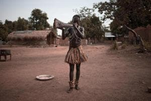 Photos:The musical horns the Broto in the Central African Republic