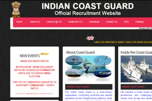 Indian Coast Guard Navik admit card 2019 out now, check dates here