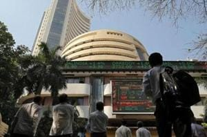 Sensex ends higher ahead of Q4 results, macro data