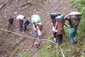 Lok Sabha elections 2019: EC officials trek 13,583 ft to conduct polls in Arunachal Pradesh