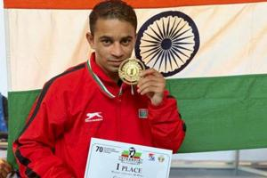 Amit Panghal to make competitive debut in new weight class at Asian Championship