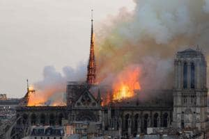Photos: Shock, prayers around the world for Notre Dame Cathedral
