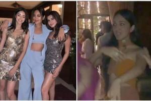 Kiara Advani, Ananya Panday, Sonakshi Sinha make Manish Malhotra dance to First Class at his house party- Watch video