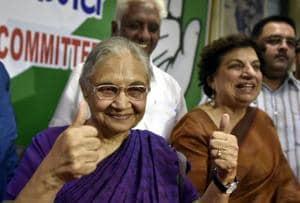 AAP talks off, Congress relies on warhorse Sheila Dikshit, Maken in Delhi