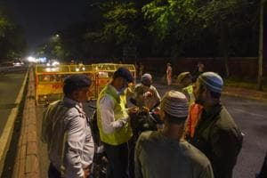Operation Romeo held over weekend at MG Road, ten held, 150 detained