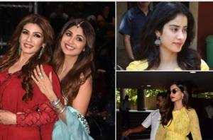 Have you seen these latest pics of Raveena Tandon, Shilpa Shetty and Janhvi Kapoor?