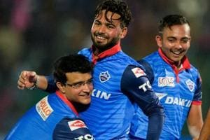 IPL 2019: Rishabh Pant describes moment when Sourav Ganguly picked him up - Watch