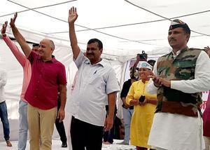 Full statehood for Delhi gets top billing in AAP manifesto