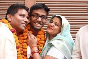 UP Board 10th topper Gautam Raghuvanshi says maths is fun, scores 98 in maths, 99 in science