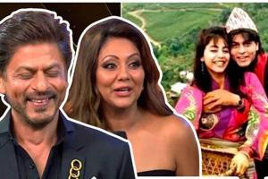 Shah Rukh Khan reveals how he pranked wife Gauri on their honeymoon