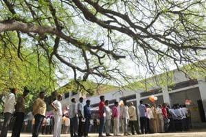 Photos: Key seats in Hindi heartland vote in phase 5 of Lok Sabha polls