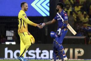 MI vs CSK Qualifier 1 - MI beat CSK by 6 wickets to advance to final