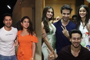 SOTY 2: Sara, Varun, Tiger, Ananya, Tara & others attend screening