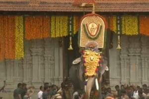 Watch: 54-year-old elephant opens Thrissur Pooram festival