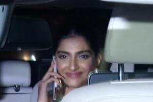 Sonam Kapoor attends cousin Priya Singh's haldi ceremony