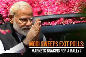 Modi sweeps exit polls: Markets bracing for a rally?
