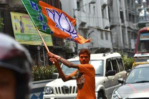 The Bharatiya Janata Party (BJP) created history on Thursday in Karnataka by winning 25 out of the 28 Lok Sabha seats, the highest tally by any party in the state since 1989, when the Congress won 27 seats.