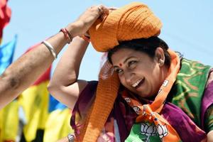 'Dedicate win to party workers who lost their lives': Smriti Irani