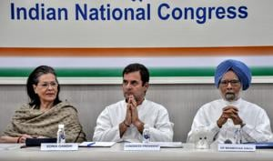 Two senior leaders have voiced disagreement with how the campaign was run; party president Rahul Gandhi's offer to resign was unanimously rejected by the Congress Working Committee; and the party's district chief in Amethi has taken responsibility for the party president's loss from the Gandhi family pocket borough, and resigned