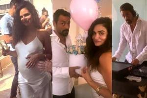 Arjun Rampal plays DJ at girlfriend Gabriella Demetriades' fun-filled baby shower- See pics