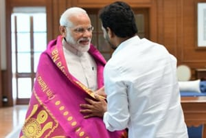 Jagan Reddy meets PM Modi, discusses special category status for Andhra
