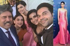 Aditi Rao Hydari, Diana Penty, Rajkummar Rao, Patralekhaa visit Lord's ahead of the World Cup, click selfie with Kapil Dev- See pics