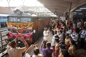 Photos: Deccan Queen, a Pune-Mumbai icon enters 90th year on the tracks