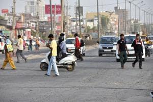 Speeding car kills man near Vatika Chowk in Gurugram