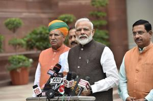 'Don't bother about numbers': PM Modi to oppn  ahead of Parliament session