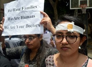 In Maharashtra, 4,500 doctors observed a one-day strike in all 26 government hospitals in the state on Friday