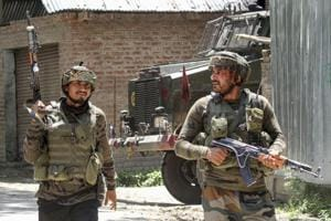 Militants throw grenade at police station in J-K's Pulwama