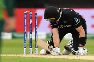 ICC World Cup 2019: Martin Guptill out hit wicket against South Africa