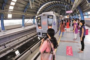 91- in favour of free Metro rides for women: AAP