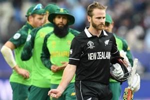 ICC World Cup 2019: Williamson ton, de Grandhomme blitz helps New Zealand down erratic South Africa