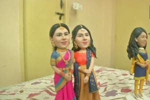 Chennai artist creates cute handmade miniature replicas out of clay