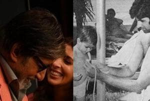 Amitabh Bachchan shares daughter Shweta's throwback pic and she's thoroughly embarrassed, see photo