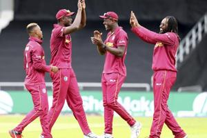 World Cup 2019:West Indies end campaign with 23-run win over Afghanistan