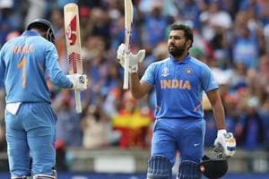 Rohit Sharma equals Sachin Tendulkar's mammoth ICC World Cup record