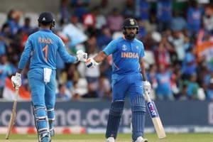 World Cup 2019:Rohit Sharma, KLRahul script empathic win for India against Sri Lanka